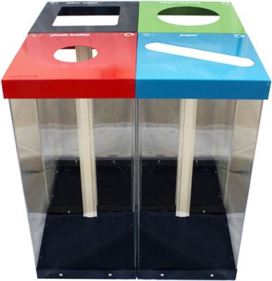 Glacier Box Recycling System
