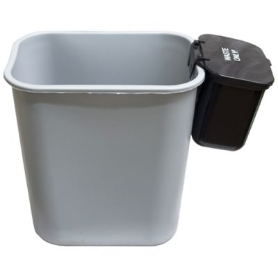 Accessories Hanging Waste Basket With Lid Workplace Recycling Bins For The Office And Factory